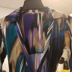 Calvin Klein Wrap around dress